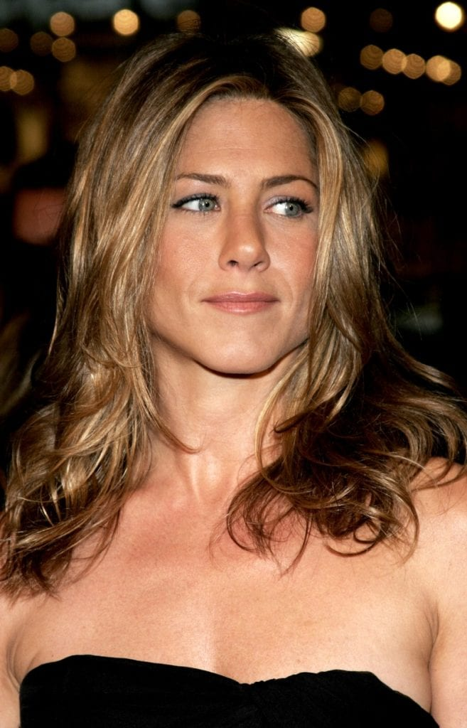 Jennifer Aniston Spray Tan