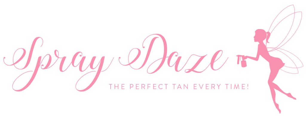 Spray Daze Tan Logo (Pink)